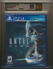 Until Dawn (Sony PlayStation 4, 2015) ps4 New Sealed GOLD VGA 90 NM+/MT