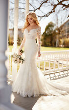 New Style Long Sleeve Wedding Dresses Lace Bridal Gown Mermaid Bridal Dresses