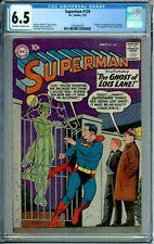 SUPERMAN 129 CGC 6.5 ORIGIN & 1ST LORI LEMARIS NEW CGC CASE DC SILVER AGE - 1959