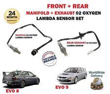 Per Mitsubishi EVO 8 9 2.0 2003 - > COLLETTORE + SCARICO 02 Sonda Lambda Ossigeno Set