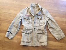Vtg 20s BOY SCOUTS OF AMERICA BSA Tunic  Belt Back Jacket Patches