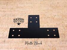 """T Bracket, 4"""" Board T Bracket, Exposed Beam T Brackets, Wood Post T Plate"""