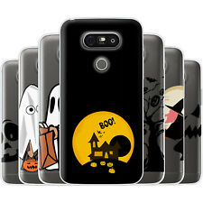Dessana Halloween Pattern TPU Silicone Protective Cover Phone Case Cover For LG