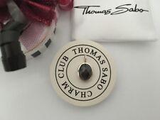 Thomas Sabo Original Anhänger mit Perle aus facettiertem Obsidian