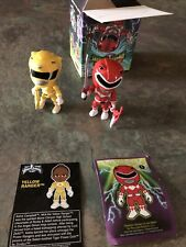 Loyal Subjects MMPR Power Rangers Red Ranger  And Yellow Ranger