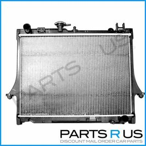 Radiator To Suit Holden Rodeo 03-08 RA Manual Only 2.4L, 3.5L Petrol/ 3.0L Turbo