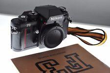 Nikon F3 fotocamera reflex professionale corpo. fantastica Menta-condizione! + manuale + cinghia