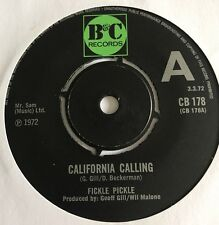 Fickle Pickle California Calling Demo B&C Wil Malone Nice  Copy !!