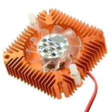 12v 2pin 55mm Computer PC Video Card Cooling Cooler Fan Heat Sink Snowpear