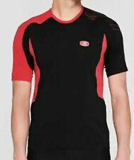 Sugoi Mens Black & Red Jersey Size Small *REF187*