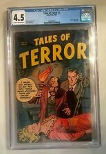 Tales of Terror #1 CGC 4.5 Toby Press 1952 only issue
