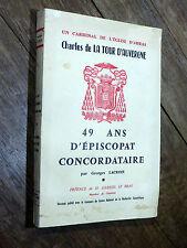 Georges Lacroix - Charles de La Tour d'Auvergne ÉPISCOPAT ARRAS Concordat