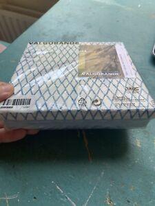 4 x Gift Box / Storage Flat Square 19x19x4cm Ikea Blue White Handmade Cardboard