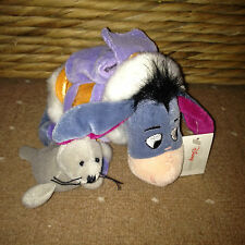 Collectable EXPLORER EEYORE Soft Toy DISNEY STORE Winnie the Pooh RING CARRIER