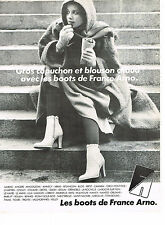 PUBLICITE ADVERTISING  1978   FRANCE ARNO   les boots