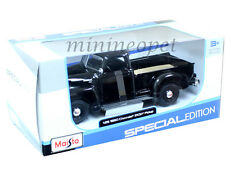 MAISTO 31952 1950 50 CHEVROLET 3100 PICK UP TRUCK 1/25 DIECAST BLACK