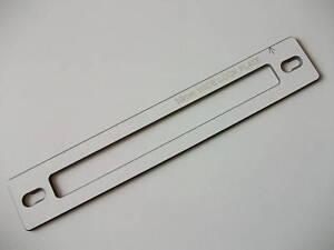 Lock Jig Template 16mm - Check our Worktop Jigs