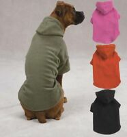 Casual Canine Dog Fleece Hoodie Sweatshirt Coat XXS-XL