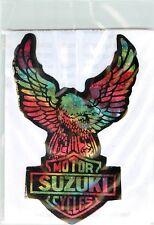 SUZUKI  - AUTOCOLLANT  STICKER - aigle  - vintage