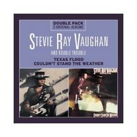 STEVIE RAY VAUGHAN/DOUBLE TROUBLE-TEXAS FLOOD/COULDN'T STAND T.WEATHER;2 CD NEU