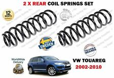 FOR VW TOUAREG 2.5 TDI 3.0 V6 TDI 3.2V6 2002-2010 NEW 2 X REAR COIL SPRINGS KIT