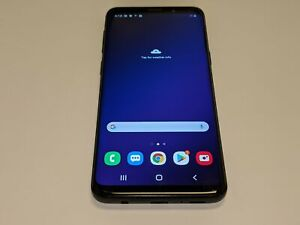 Samsung Galaxy S9 SM-G960U Black Verizon Wireless 64GB Smartphone/Cell Phone
