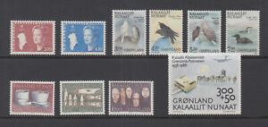 Greenland 1988 Complete Year Mint Never Hinged