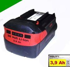 ORIGINAL Hilti Pila B 36 LI 36 voltios Li-ion 3,9ah. 3900mAh 36V te-6a