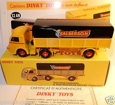 DINKY ATLAS CAMION TRACTEUR PANHARD SEMI REMORQUE CALBERSON REF 32 AN IN BOX