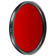 Neewer 58mm Red Filter for Canon EOS Rebel T6i T6 T5i T5 T4i T3i SL1 DSLR
