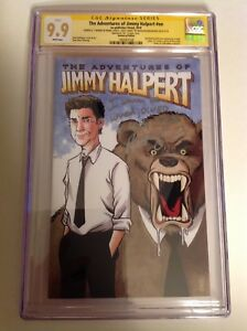 "CGC SS 9.9 The Office Jimmy Halpert comic #69/100 NBC signed Baumgartner ""Kevin"""