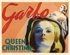 QUEEN CHRISTINA Movie POSTER 30x40 Greta Garbo John Gilbert Lewis Stone Sir C.