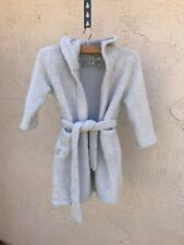 Barefoot Dreams CozyChic Robe , Light Blue , Size 2T - 5T For Girl 3 - 6 yrs