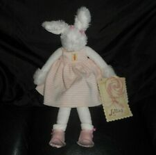 NEW W TAG BUNNIES BY THE BAY LOLLIHOP BUNNY RABBIT STUFFED ANIMAL PLUSH LOVEY