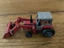 Ertl 1/64 farm country Massey Ferguson 699 Tractor Loader Loose Very Gd Cd 1986