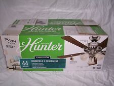 Hunter Fan 44 inch classic series Indoor Ceiling Fan with Light Kit