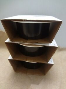 """NEW IN BOX HALO 410P  6"""" Recessed Lighting White Trim With Black Baffle Lot of 3"""