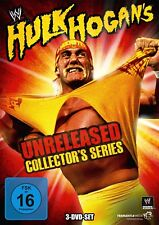 HULK HOGAN - HULK HOGAN UNRELEASED COLLECTOR'S SERIES 3 DVD NEU