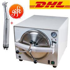 18L Medical Steam Sterilizer Autoclave Dental Lab Sterilizer Equipment Device