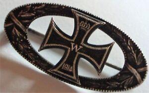 Orden Abzeichen Anstecknadel Erster Weltkrieg 1914 'Eisernes Kreuz'  Nadel