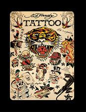 Retro Tatuaggio 3 Cartello in metallo