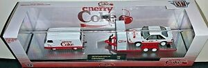 M2 MACHINES 2021 CHERRY COKE '65 FORD VAN/1990 FORD MUSTANG GT FOXBODY SET TW09