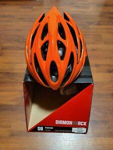Diamondback Podium Bike Helmet Size Adult 52-56cm Flash Orange XXS-M