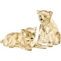 Swarovski Crystal Creation 5428542 SCS Amur Leopard Cubs RRP $419