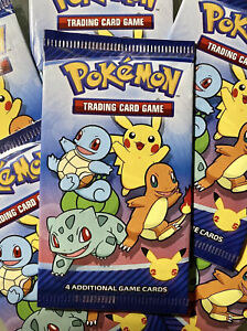 ⭐️2021 McDonalds 25th Anniversary Pokemon Card Pack. Sealed & Unopen ⭐️