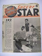 Raich Carter's Soccer Star Magazine. June 19, 1954. J. Spence York City.