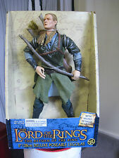 LORD OF THE RINGS - RETURN OF THE KING DELUXE POSEABLE LEGOLAS - TOY BIZ.