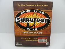 Survivor _ PC CD-ROM Interactive Game Outwit Outplay Outlast