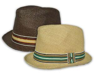 NEW ERA STRIPORA STRAW HAT - UNISEX