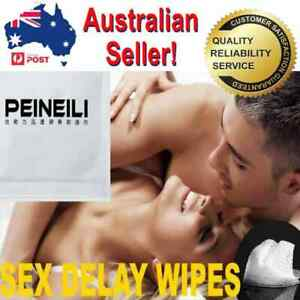 Peineili Penis Pre Ejaculation Sex Delay Wipes 60 Min Pleasure wallet size